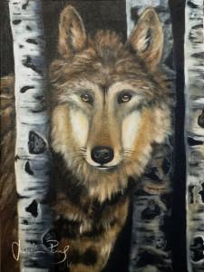 vlk malováni
